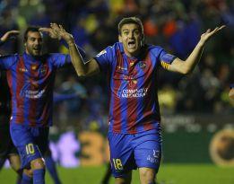 """Para el Levante, los """"ejemplares"""" fueron sus jugadores"""