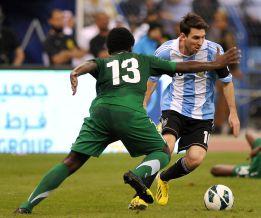 Messi y Argentina no dejan huella en su paso por Arabia