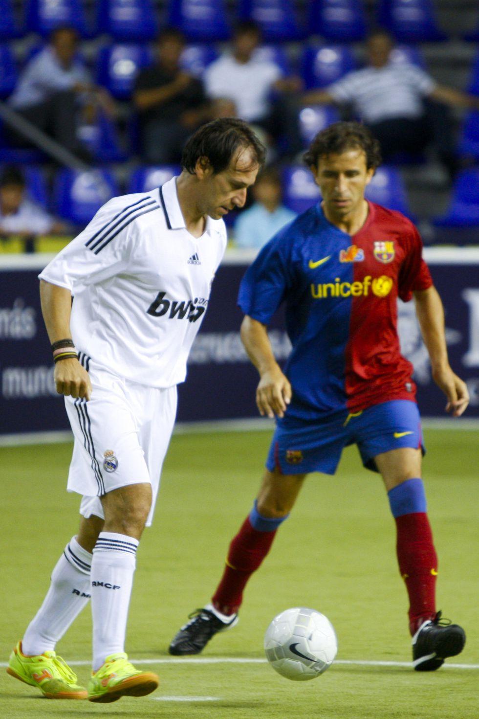 El Madrid se lleva el Clásico de veteranos disputado en Catar