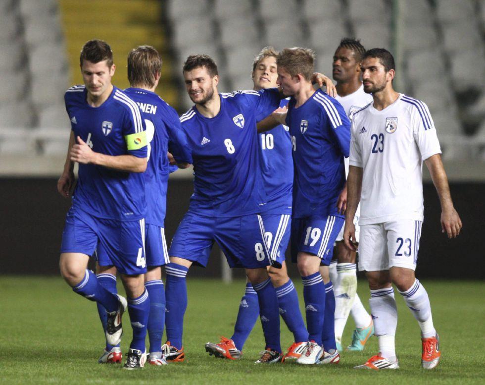 Finlandia, próximo rival de La Roja, gana fácilmente a Chipre