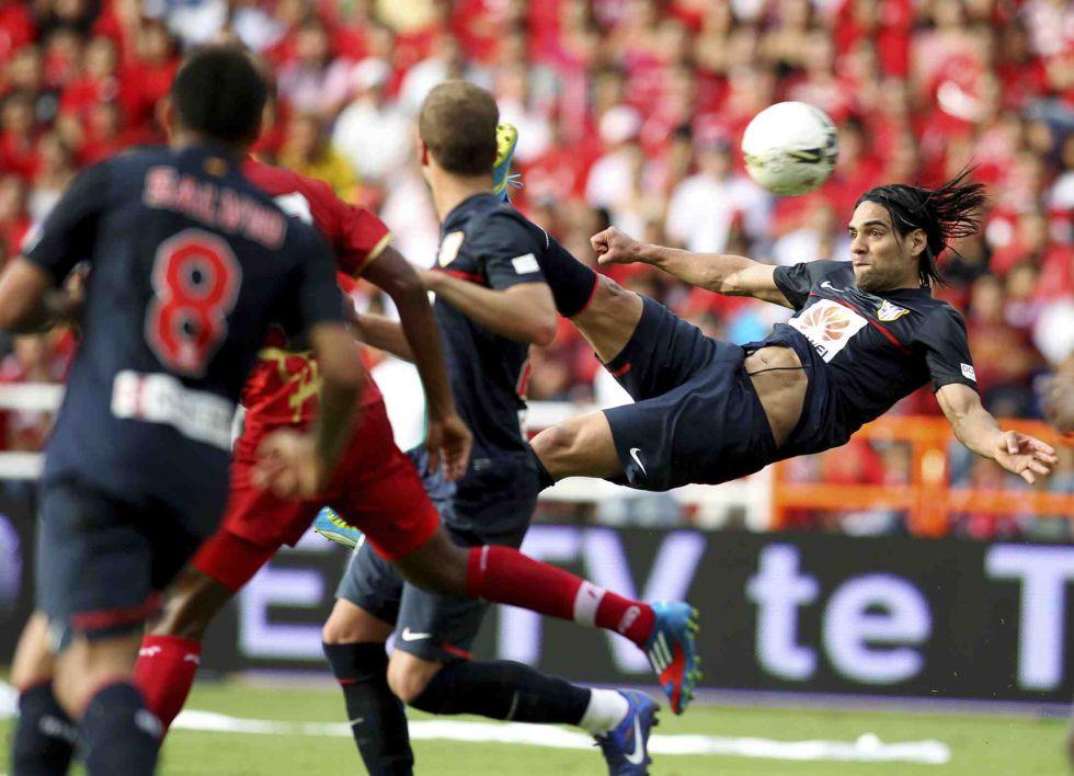 Un gol de Falcao al América, candidato al Premio Puskas
