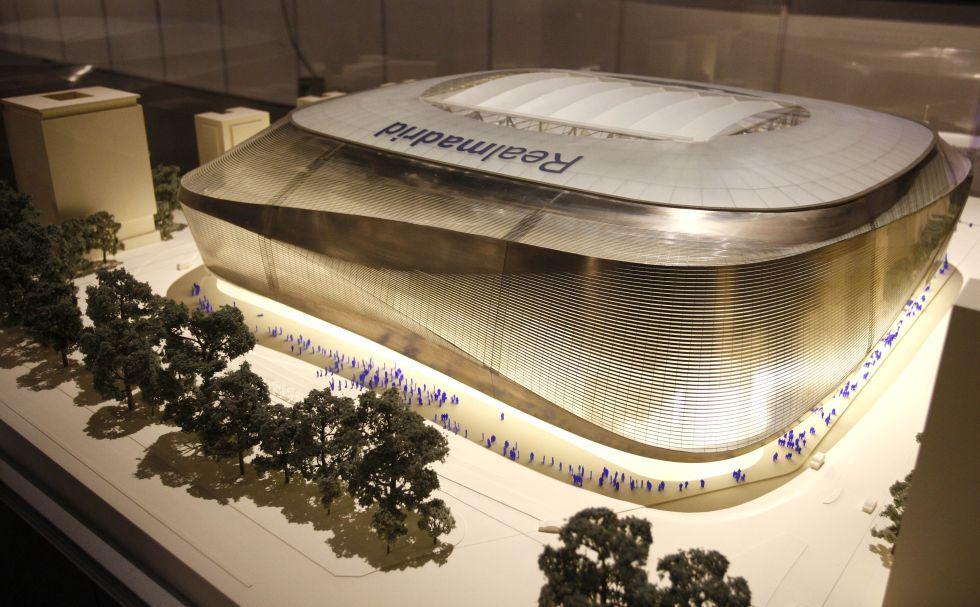 OK de la Comunidad de Madrid a la remodelación del Bernabéu