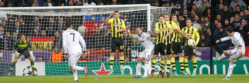 El 36 por ciento vota a Özil como lanzador preferido de faltas