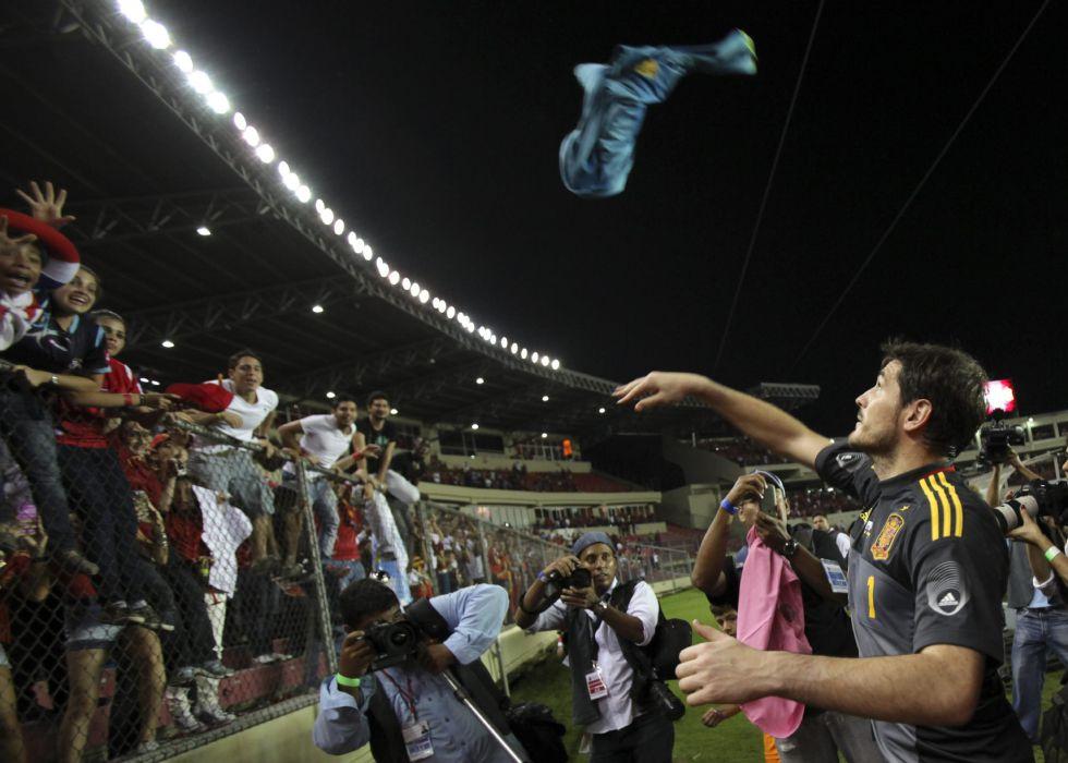 """Casillas sobre el gol de Gómez: """"Ha quedado muy bien"""""""