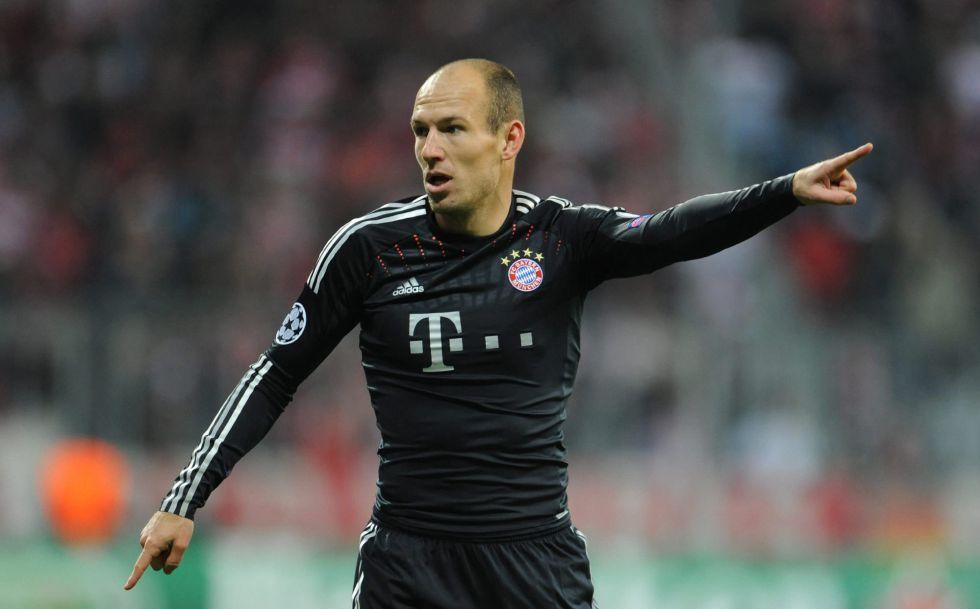 Robben no jugará en Valencia por problemas musculares