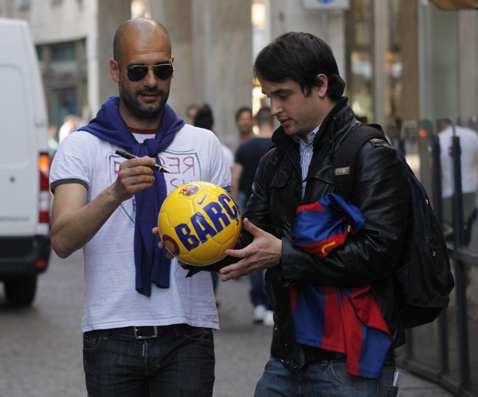 El Barcelona teme que Pep Guardiola fiche por el City