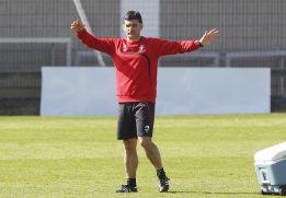 """Mendilibar : """"Me importa sumar, no salir del descenso"""""""