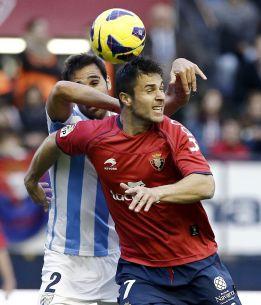 Osasuna y Málaga se anulan y no solucionan sus problemas