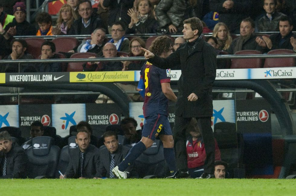"Vilanova: ""Messi no gana solo"""