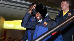 El Barcelona, sin Marc Bartra, ya está concentrado en Moscú