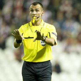 Webb dirigirá el Valencia-Bayern y Bebek el Spartak-Barcelona