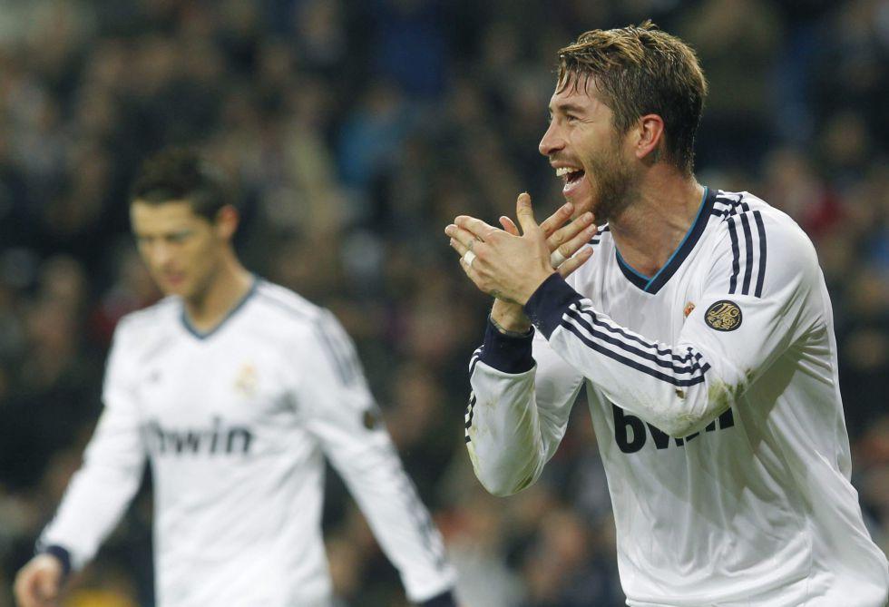 """Ramos: """"La celebración fue para Mesut Özil porque se la debía"""""""