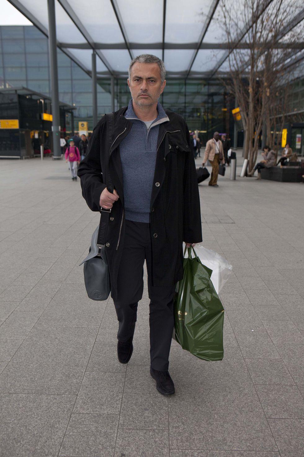 José Mourinho ya prepara la mudanza de su familia a Londres