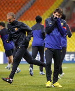 El Barça provoca el mayor lleno del estadio Luznikhi en seis años