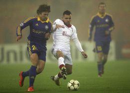 El Lille gana al BATE y clasifica al Valencia para octavos