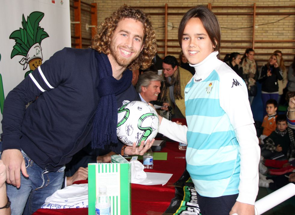 """Cañas: """"Mi gesto fue de rabia, no de desprestigio al Real Betis"""""""