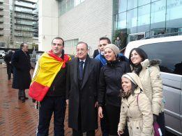 El Madrid comparte hotel de concentración con... Begiristain