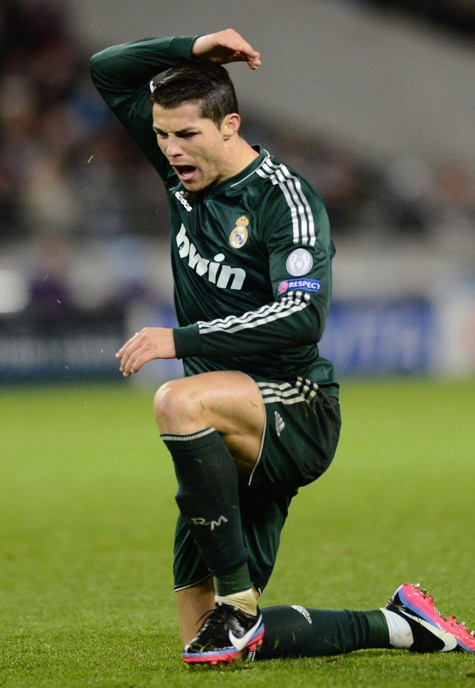 Cristiano no quiso contestar sobre si está feliz en el Madrid