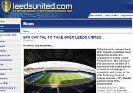 Una empresa con sede en Dubai adquiere el Leeds United