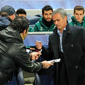 Mou's team finished second in the two Champions Leagues he won