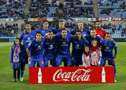 Primera vez que el Getafe empieza con 11 españoles