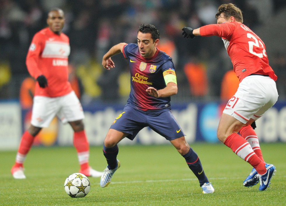 """Xavi: """"El Barça está haciendo un esfuerzo, espero retirarme aquí"""""""