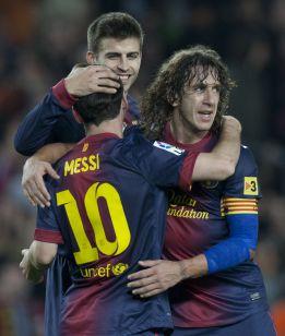 Alba, Puyol, Piqué y Ramos optan al mejor defensa de 2012