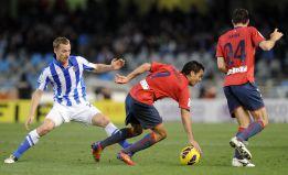 Osasuna frena la racha de la Real Sociedad de Montanier