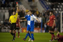 El Mirandés detiene al Sabadell