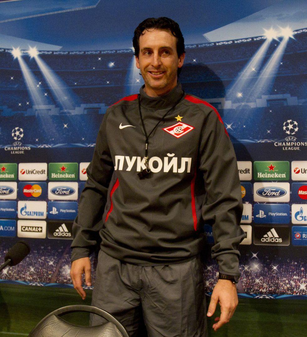 El Spartak destituye a Emery