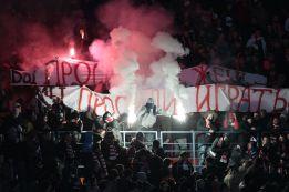 El Spartak- Dínamo concluye en Moscú con más de 160 detenidos