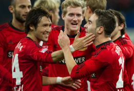 Carvajal marca el gol de la victoria del Bayer Leverkusen