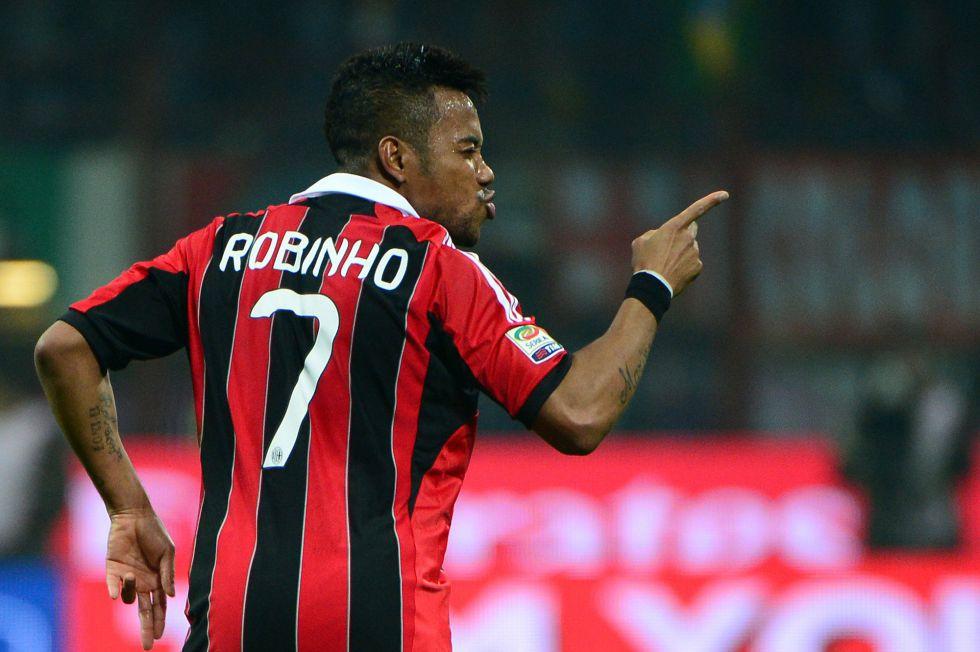 Robinho tumba a la Juve y le hace un favor al Inter