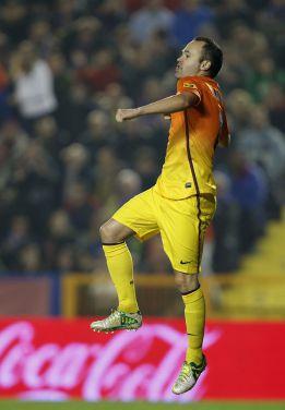 """Iniesta: """"Este es el camino"""""""