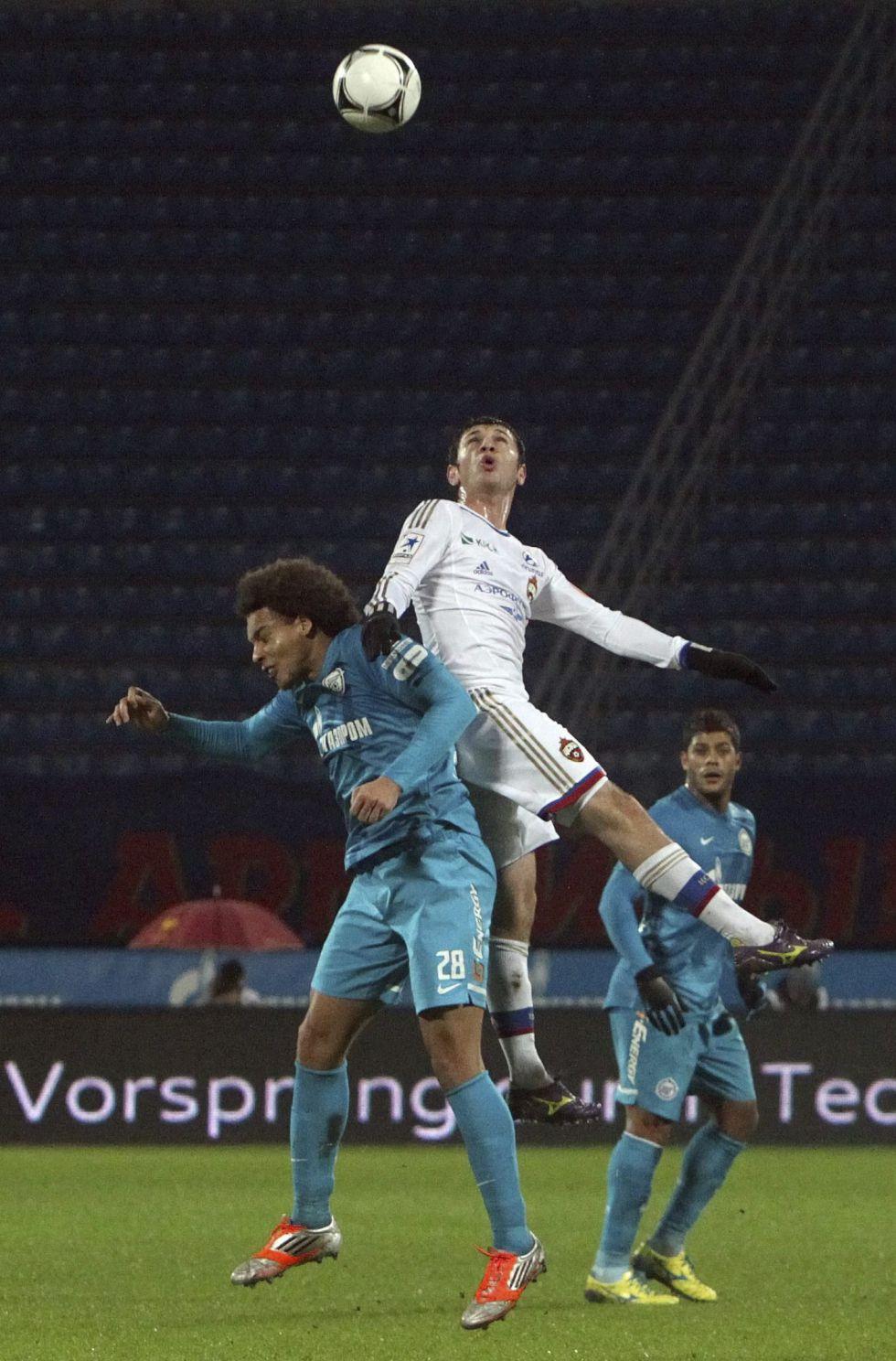 El CSKA empata de penalti en San Petersburgo y sigue al frente