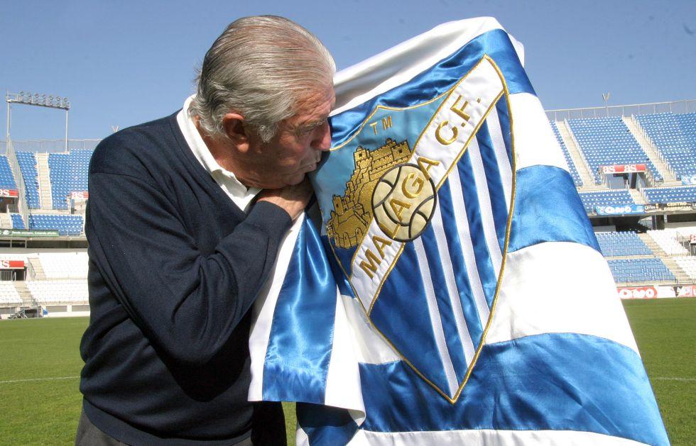 Viberti dará nombre a la puerta 5 del estadio de La Rosaleda