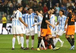 La goleada en Málaga deja en 'shock' a los valencianistas