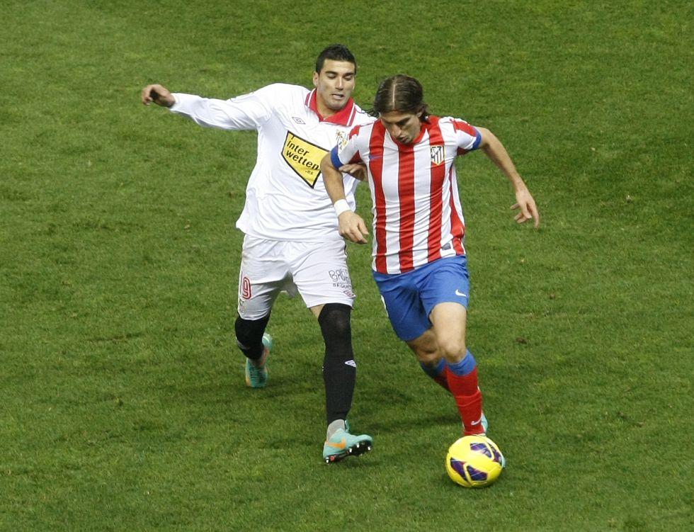 """Filipe Luis: """"El Madrid es el Madrid, pero vamos a lo nuestro"""""""