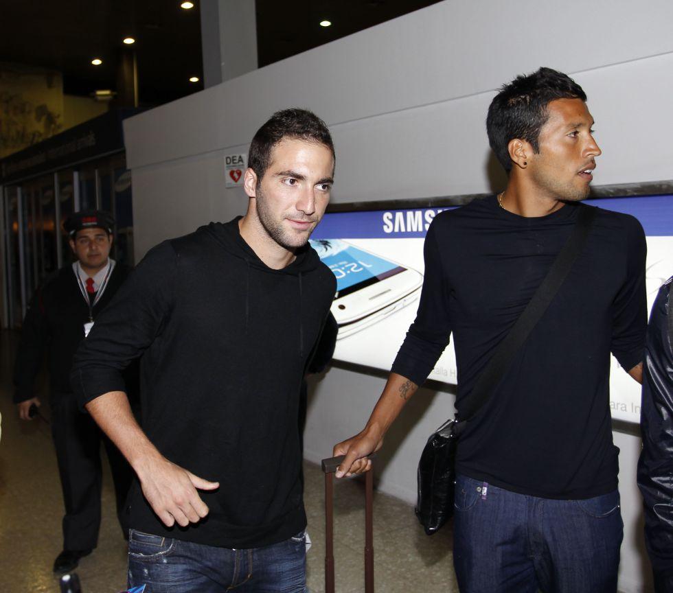"""Higuaín: """"Estábamos así cuando llegué y fuimos campeones"""""""
