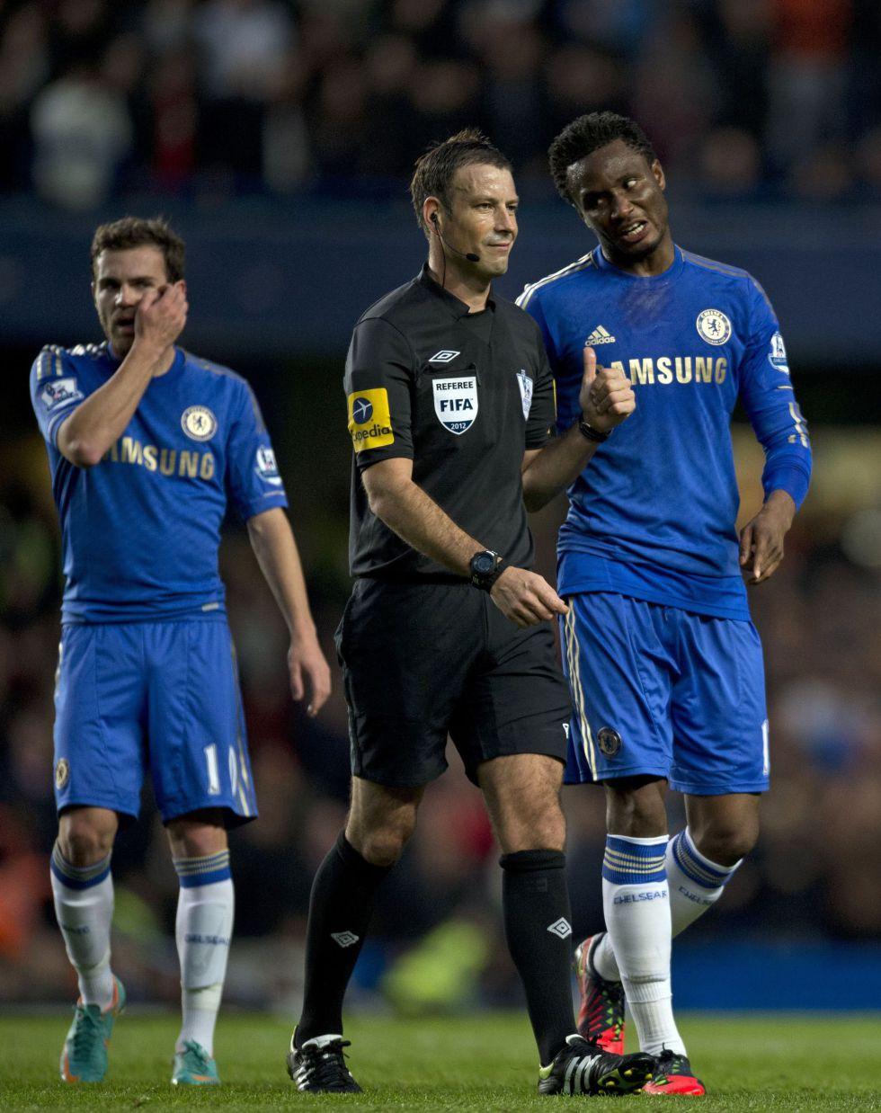 El Chelsea pide perdón al árbitro Clattenburg por la polémica