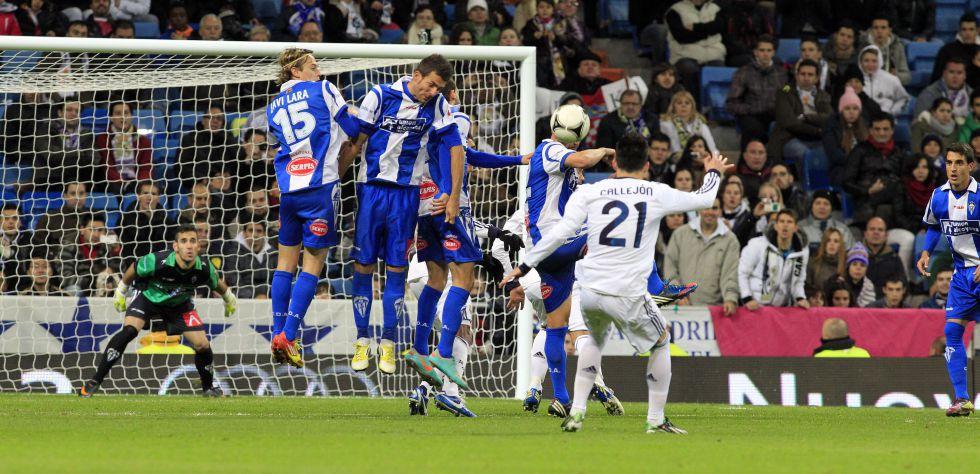Callejón hizo la paz en el Bernabéu