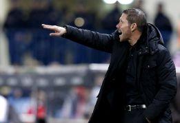 """Simeone: """"Me pone contento la manera de la que hemos jugado"""""""