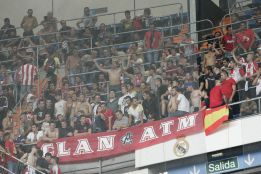 Habrá pocos rojiblancos en el Bernabéu por los altos precios