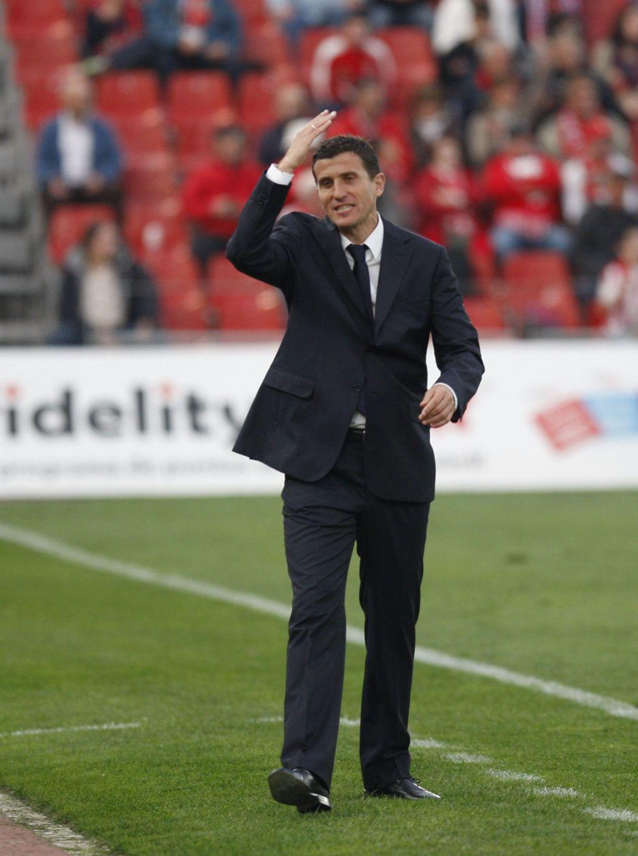 """Javi Gracia: """"No tuvimos suerte en la última jugada"""""""