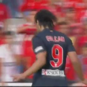 Radamel Falcao's bicycle kick, candidate for goal of the year