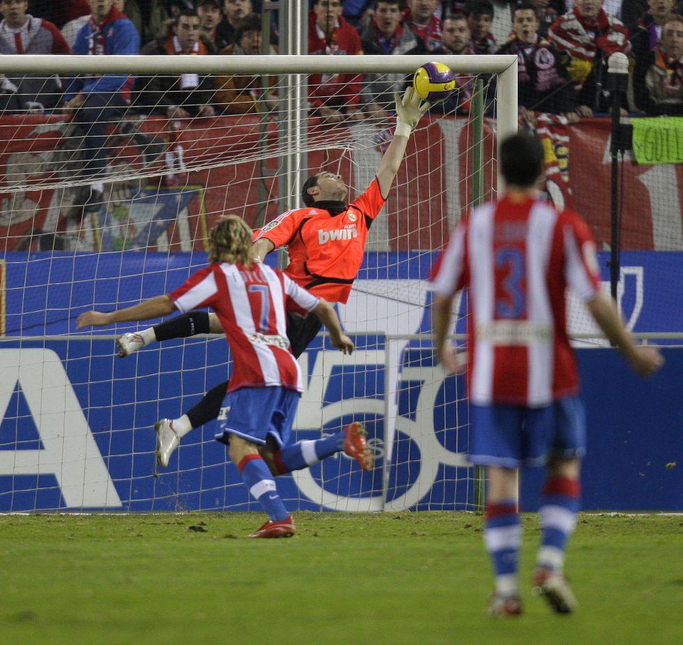 Casillas: 23 derbis madrileños de titular sin conocer la derrota
