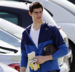 Courtois fue baja ante el Jaén en Copa pero jugará el derbi