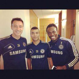 Essien se trata en Londres con los fisioterapeutas del Chelsea
