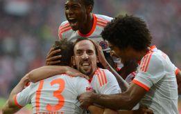 """Ribery: """"Nos sentimos capaces de ganar a Madrid y Barcelona"""""""