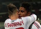 El Milán se agarra a El Shaarawy y remonta al Catania